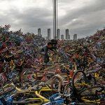 دوچرخه های رها شده در چین مجله عکس نوریاتو