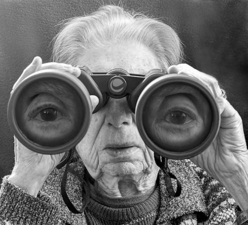 ترفندهایی بامزه برای عکاسی از سالمندان