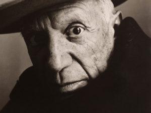 پابلو پیکاسو اثر ایروینگ پن