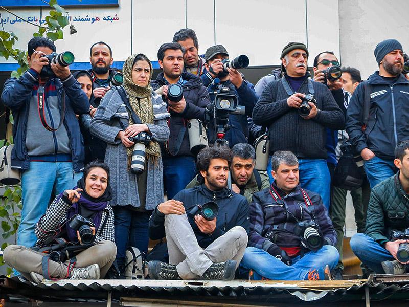 عکاسان خبری از روز خبرنگار میگویند