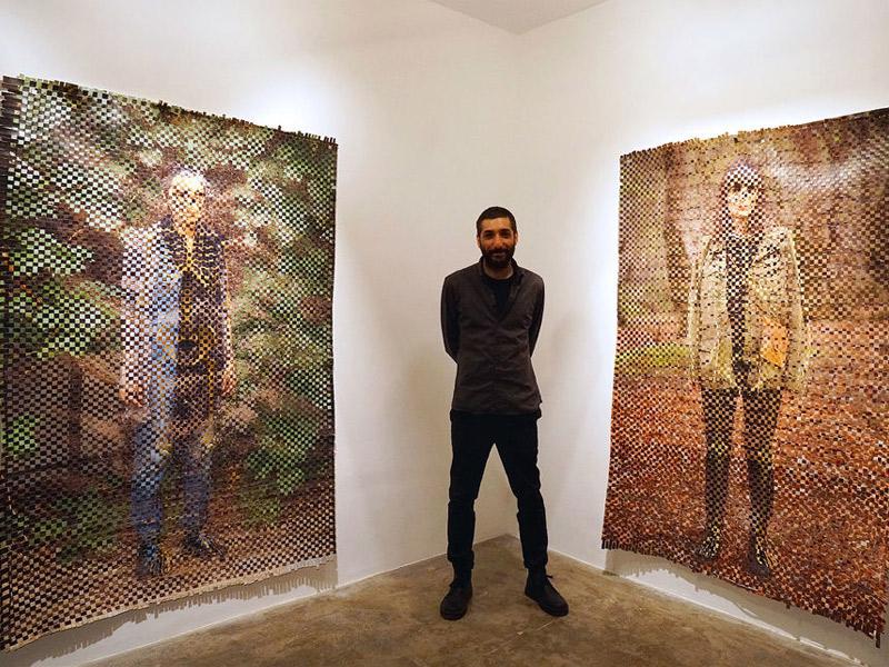 """""""پوست، گوشت و استخوان""""  آریا تابنده پور در گالری محسن"""