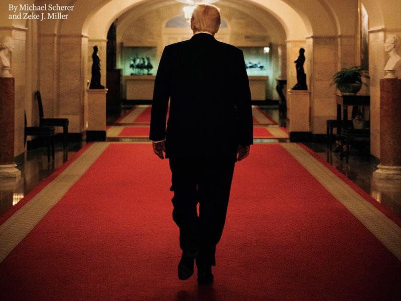 پشت صحنه عکاسی از ترامپ + فیلم