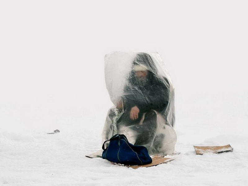 ماهیگیران یخ