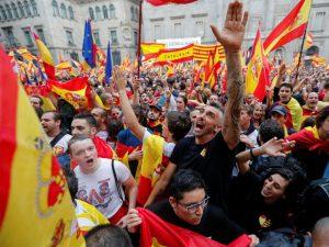 درگیری در پی همه پرسی استقلال کاتالونیا مجله عکس نوریاتو