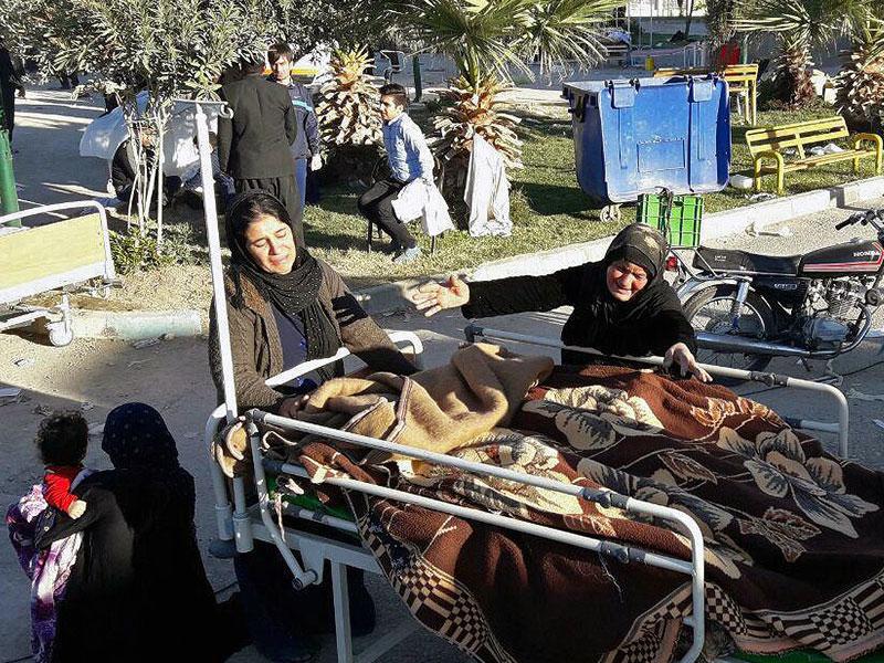 عکس روز: خسارات زلزله در سرپل ذهاب