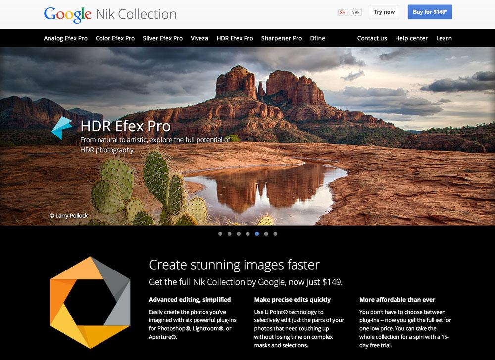 نرمافزارهای Nik Collection از گوگل به DxO فروخته شدند