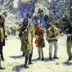 بارش برف در تهران مجله عکس نوریاتو