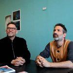 آدام برومبرگ و الیور شانارین مجله عکس نوریاتو