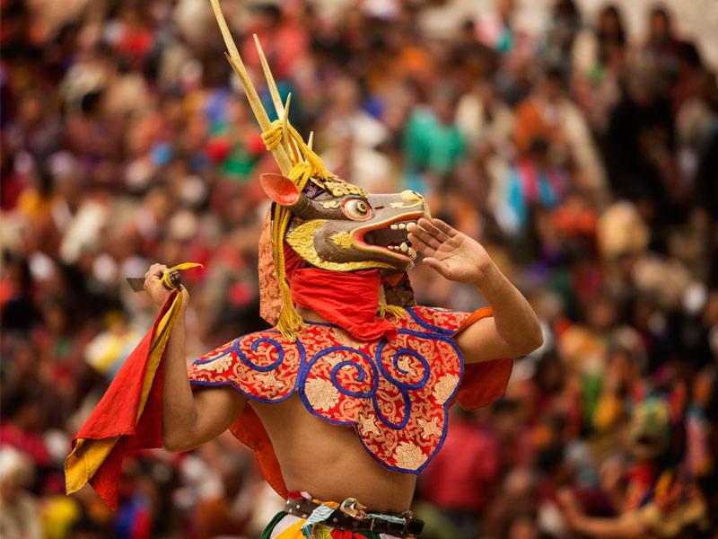 عکس روز: بوتان؛ شادترین کشور جهان