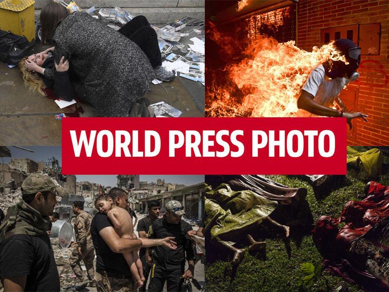 ۶ نامزد عکس سال ورلدپرس فوتو ۲۰۱۸؛ خشونت، جنگ، اعتراض