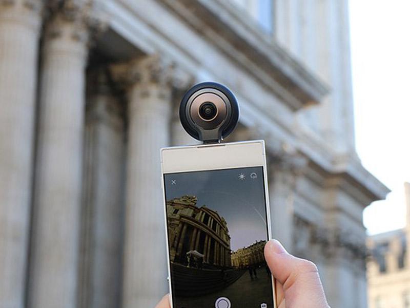 کوچکترین دوربین واقعیت مجازی و افزوده+ویدئو