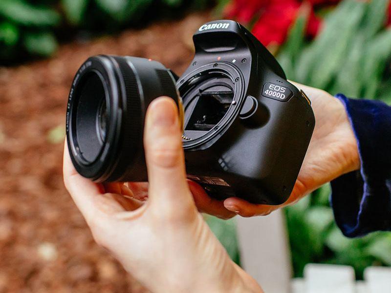 دوربین کانن ۴۰۰۰D ؛ ارزان ترین دوربین DSLR کانن