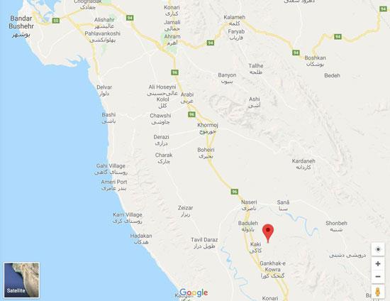 همه چیز درباره زلزله امروز کاکی بوشهر
