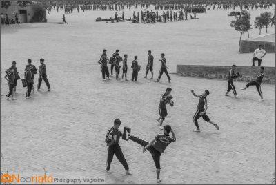 عباس عطار مدرسه کونگ فو شائولین مجله عکس نوریاتو