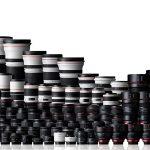 حروف اختصاری روی لنز دوربینهای عکاسی