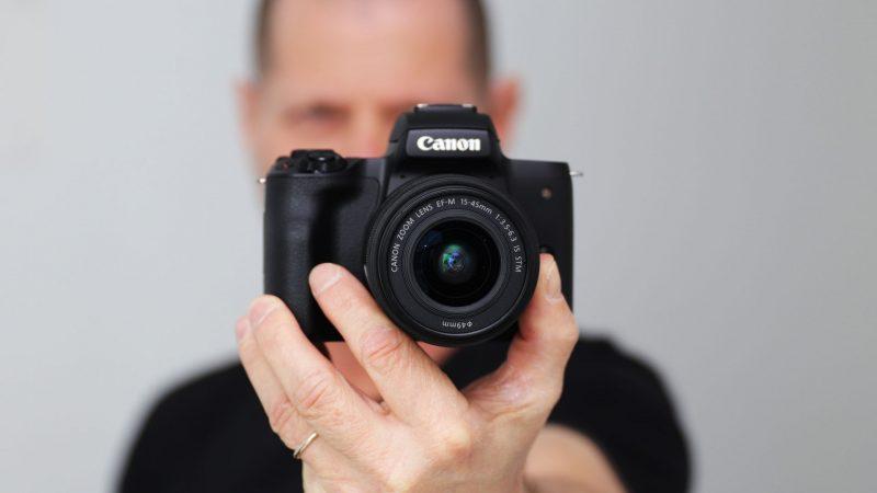 دوربین کانن M50؛ یک شاهکار تمام عیار