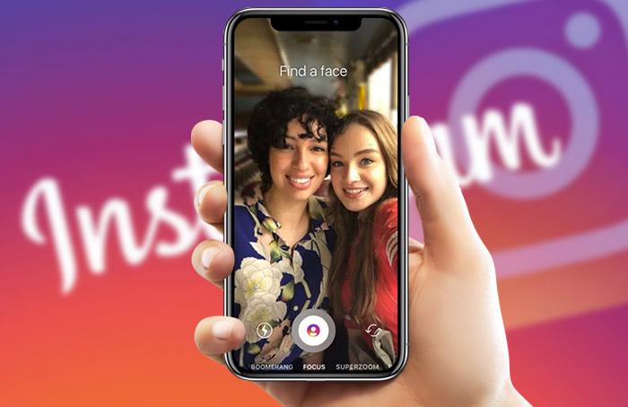 تصاویر Bokeh بدون دوربین دوگانه با Focus Mode در اینستاگرام