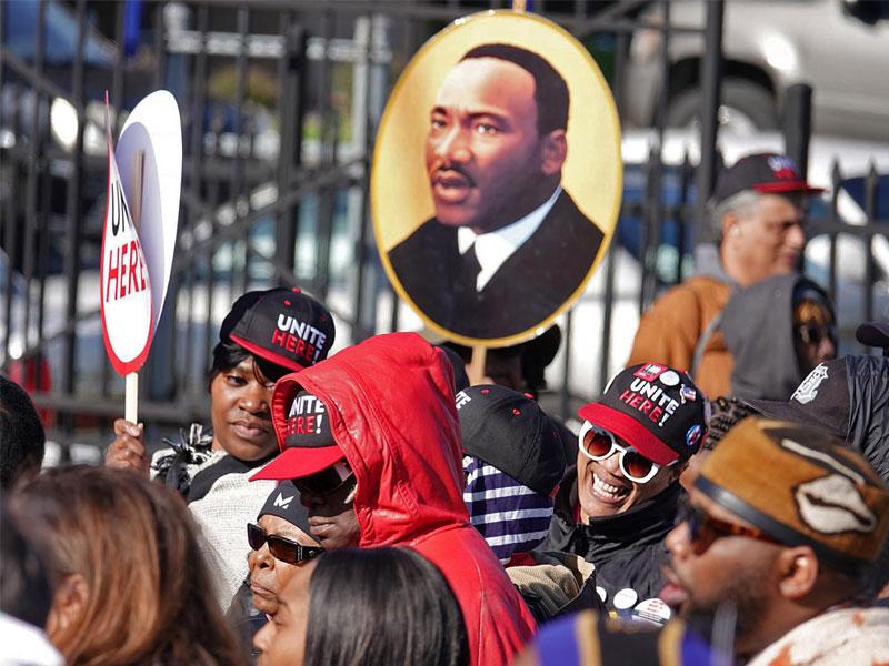 عکس روز: یادبود مارتین لوتر کینگ