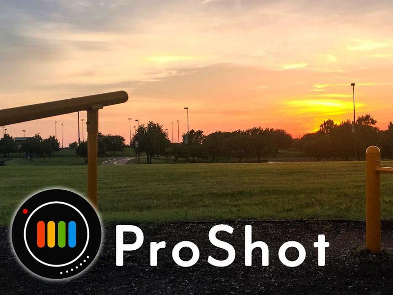 عکاسی حرفهای در اندروید و آیفون با اپلیکیشن ProShot