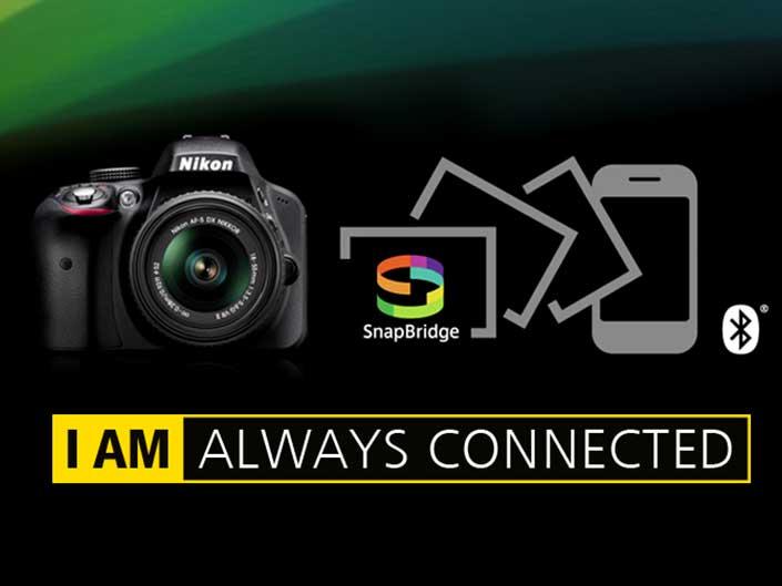 قابلیت SnapBridge در دوربینهای نیکون چگونه کار میکند؟