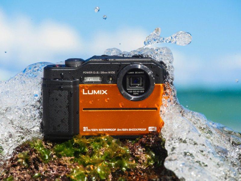 تجربه عکاسی در عمق آب با لومیکس تی اس ۷