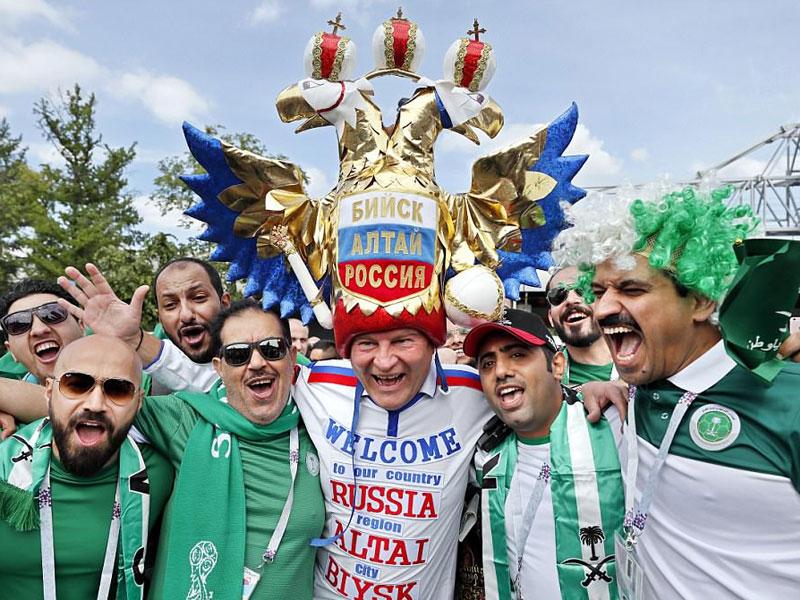 در انتظار افتتاحیه جام جهانی ۲۰۱۸ روسیه
