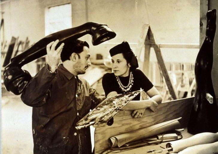 سالوادور دالی و همسرش مجله نوریاتو