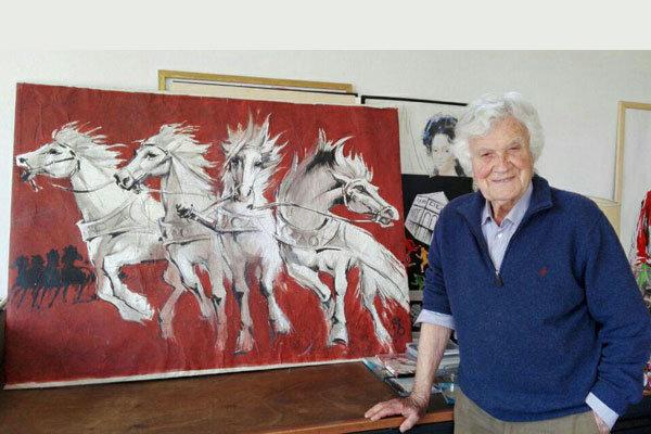 سیلوانو کامپهجی، طراح پوستر «کازابلانکا» درگذشت