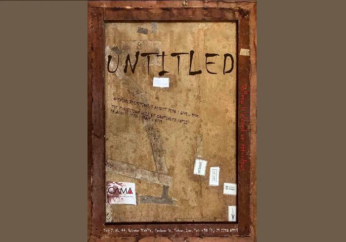«بدون عنوان»ها در گالری کاما روی دیوار می روند