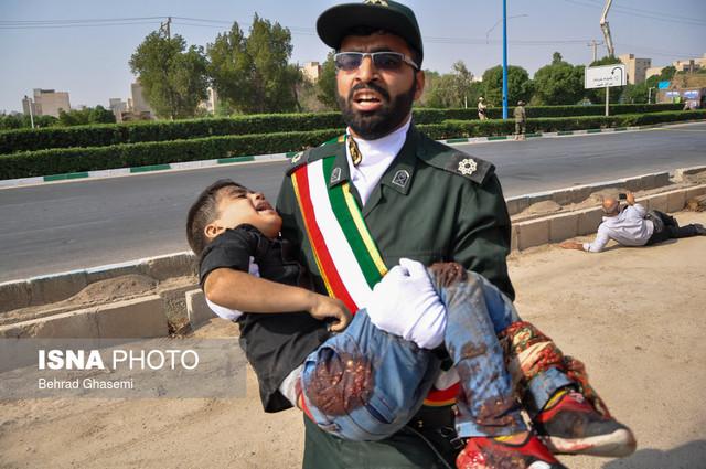عکاسان در حادثه تروریستی اهواز از جان مایه گذاشتند