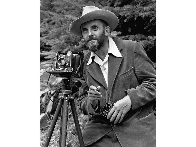 آنسل آدامز و عکاسی از محیط زیست آمریکا