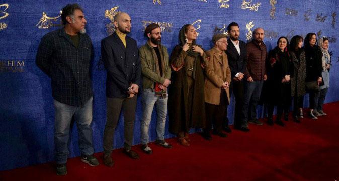 نشست خبری فیلم آشفتگی با حضور رادان و مهناز افشار