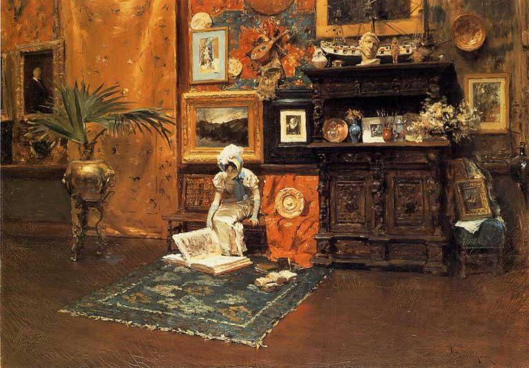 نقاشی هفته؛ ویلیام مریت چیس