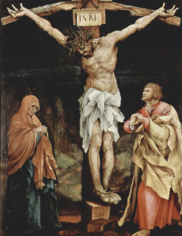 مسیح مصلوب ماتیاس گرونوالد