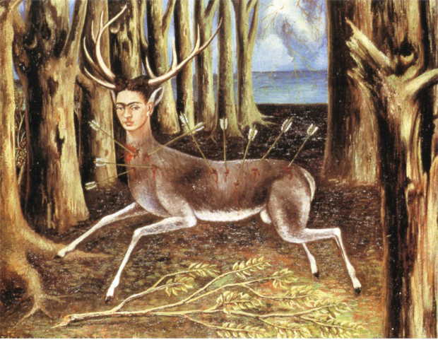 نقاشی فریدا کالو
