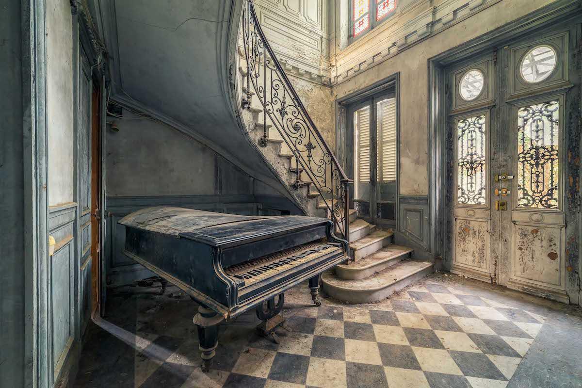 تصاویر میشل شوان از گذر زمان در خانههای متروکه