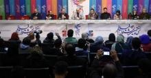 کنفرانس خبری فیلم پالتو شتری با حضور لیندا کیانی