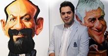 نمایش چهره بازیگران توسط شهاب جعفرنژاد