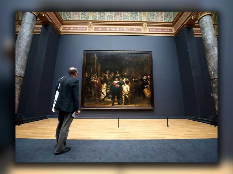 نقاشی که نقاشی را به زمین برگرداند