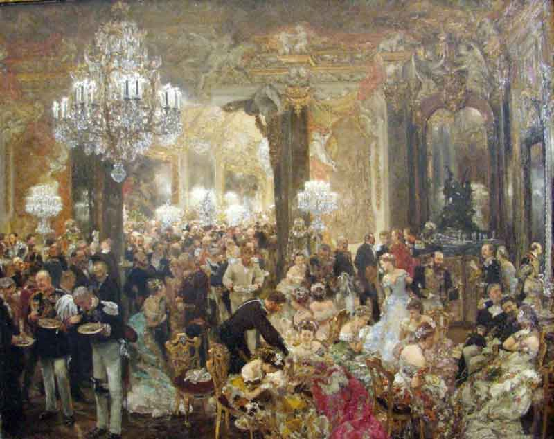 شام در مراسم رقص