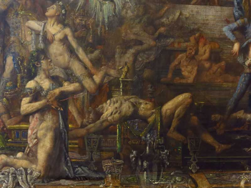 نقاشی گوستاو مورو