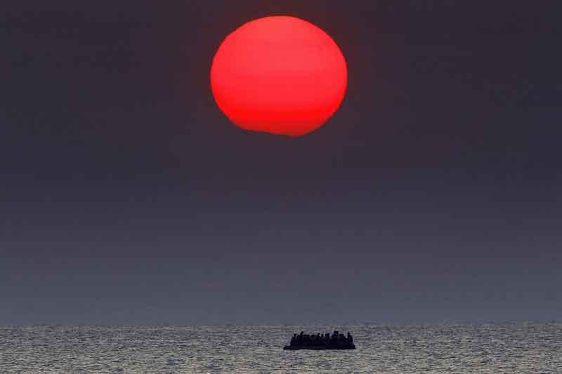 اخبار عکاسی پناهجویان یونان