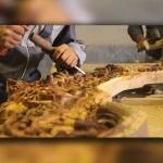 برنده شدن هنرمند کرمانشاهی در تورنومنت جهانی چوب
