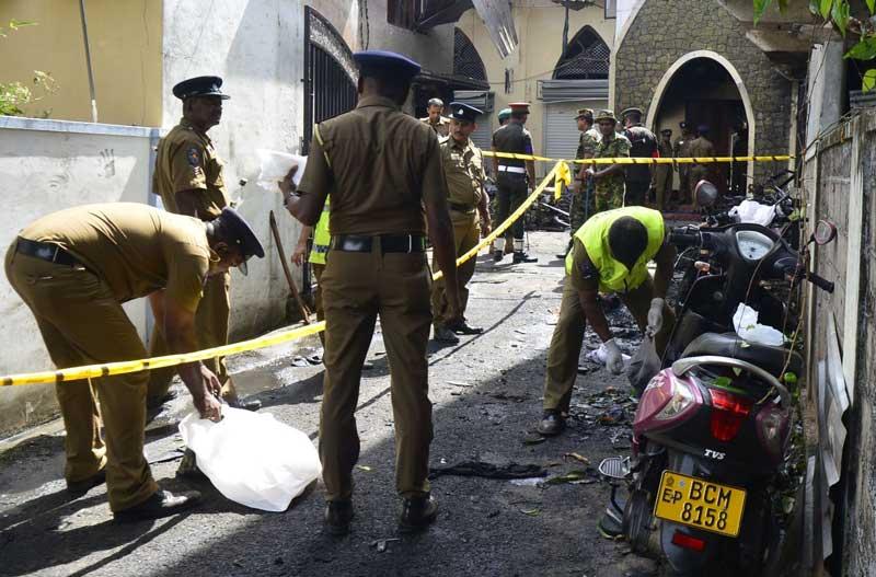 بمب گذاری سریلانکا