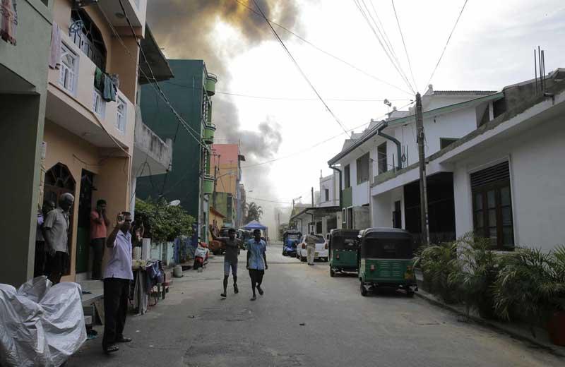 حادثه تروریستی سریلانکا