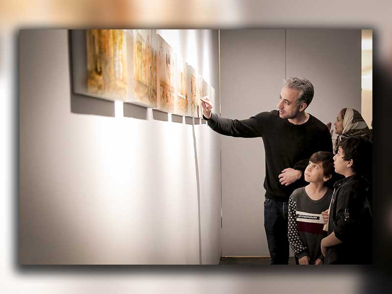 گالری های تهران در پایان اولین ماه بهار