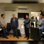 بازدید رئیس بنیاد سینمایی فارابی از مجموعه دانش بنیان فراکاو