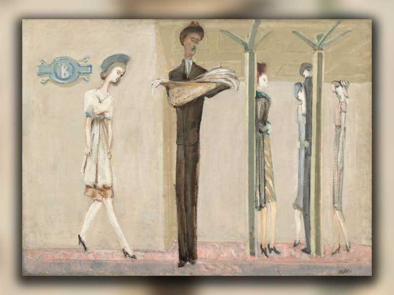 مردم، زیر زمین و معما در آثار مارک راسکو