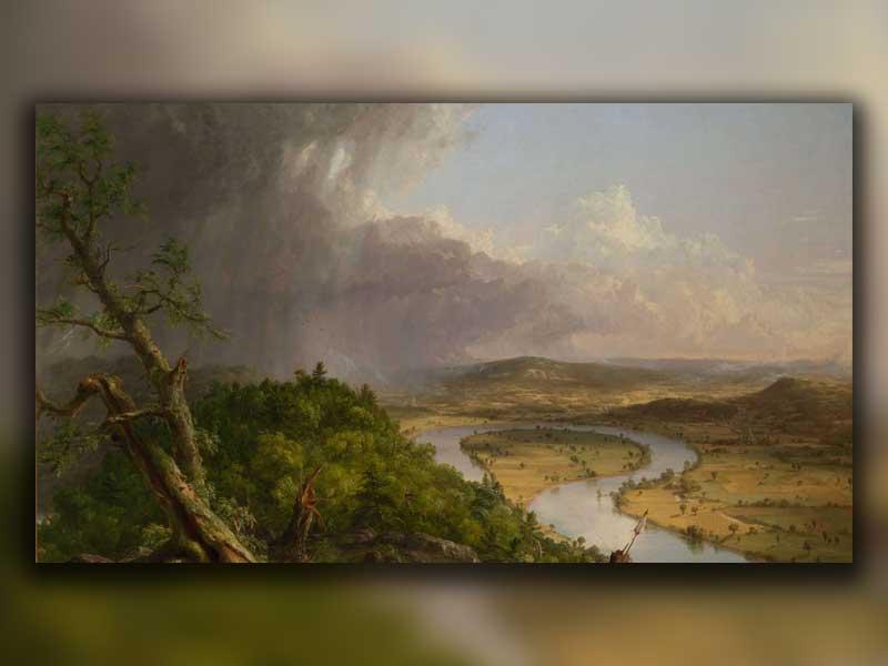 نقاشی از طبیعت به سبک آمریکایی