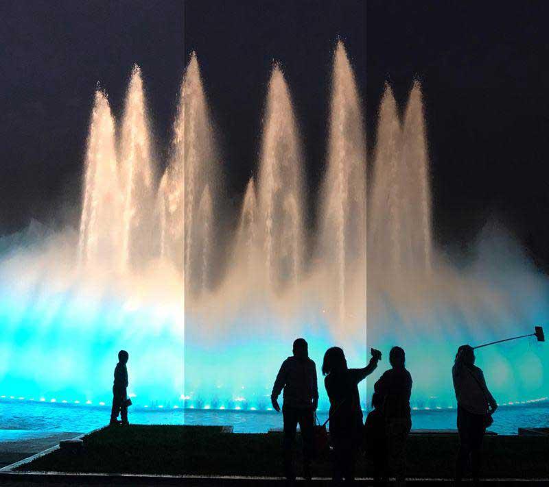 روش عکاسی در شب
